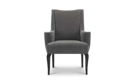 Modern Luxury High Back Arm Chair