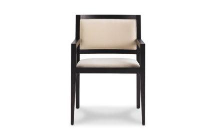 Domicile Upholstered Back Arm Chair