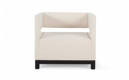 Domicile Fully Upholstered Cube Chair