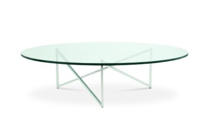 Domicile Glass Top Coffee Table