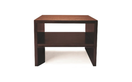 Domicile Table with Shelf