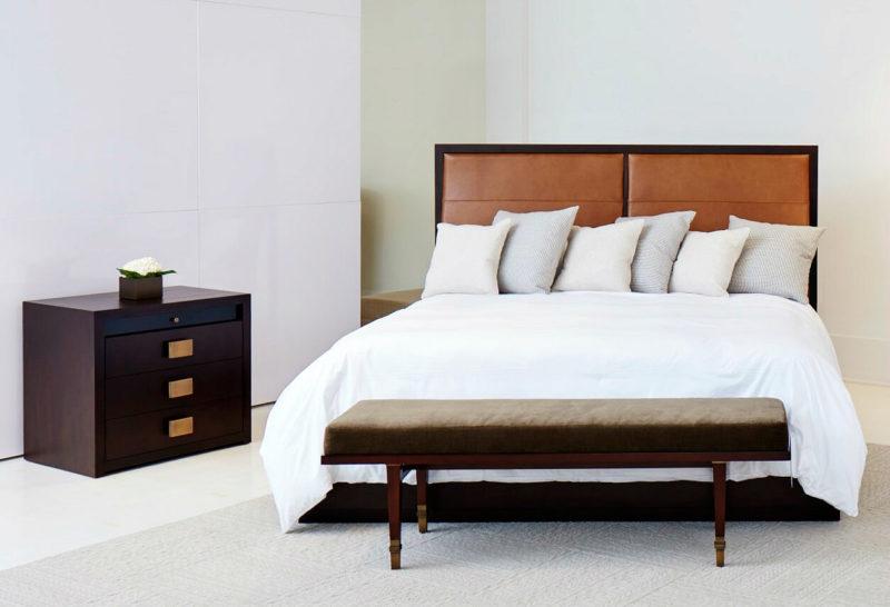 Kata Sho King Bed Upholstered Headboard