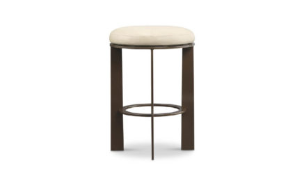 Kinkou Counter Stool with Upholstered Seat