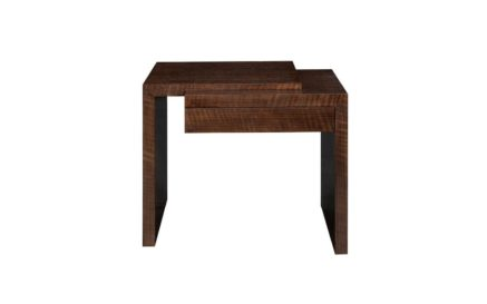 Modern Metropolis Shale End Table