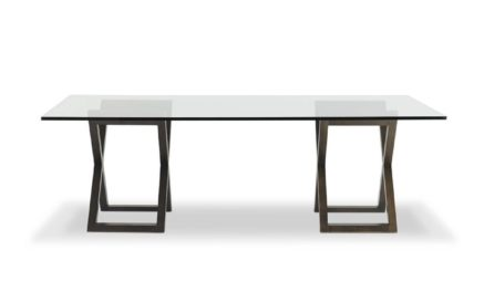 Objets Glass Top Dining Table