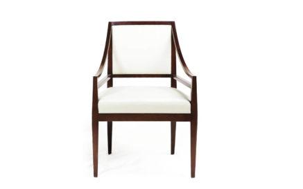Rosenau Rosenau Upholstered Back Arm Chair