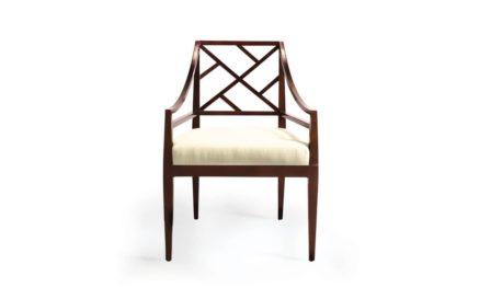 Rosenau Rosenau Wood Back Arm Chair
