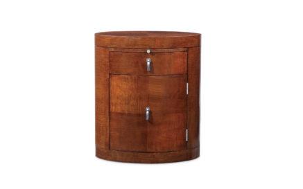 Rosenau Oval Cabinet 53023RHT