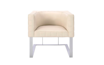 Cosmopolitan E.E. Tufted Cube Chair