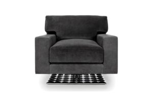 Cosmopolitan Tristan Swivel Club Chair