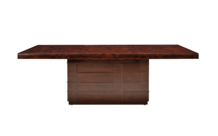 Cosmopolitan Kingsley Wood Top Dining Table