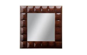 Cosmopolitan Kingsley Square Tufted Mirror
