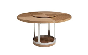 Inversion Arche Dining Table (with Lazy Susan)