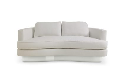 Rottet Home Cubist Curve Loveseat