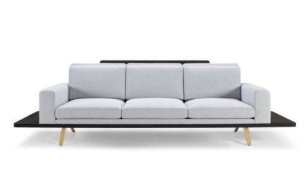 The London Collection Platform Sofa