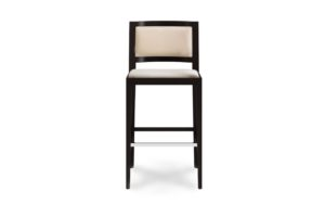 Upholstered Back Bar Stool