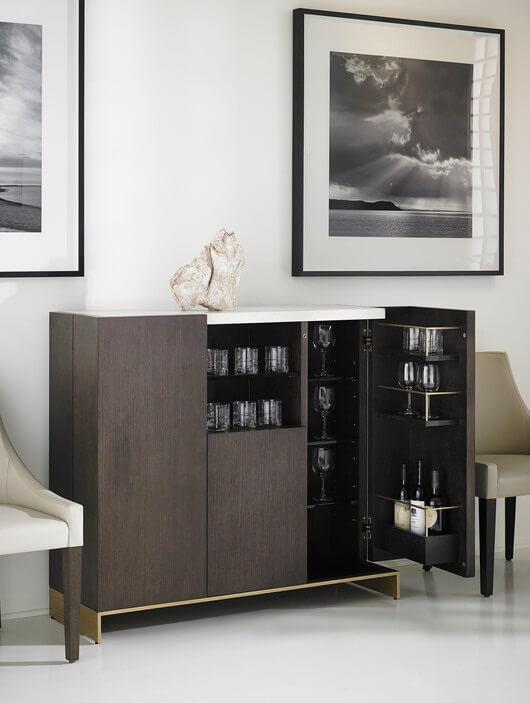 Objets Bar Cabinet