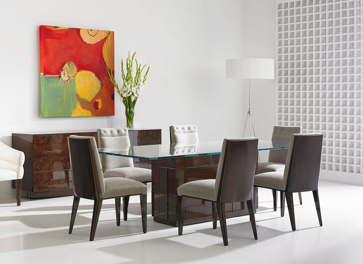 Cosmopolitan Kingsley Veneer Back Dining Chair