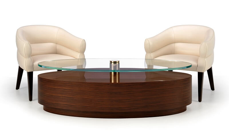 Cosmopolitan Eliot Oval Coffee Table