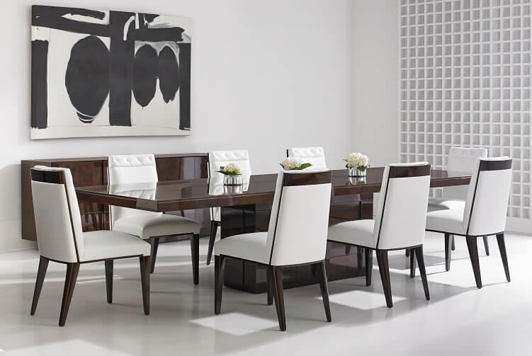 Cosmopolitan Kingsley Wood Top Dining Table