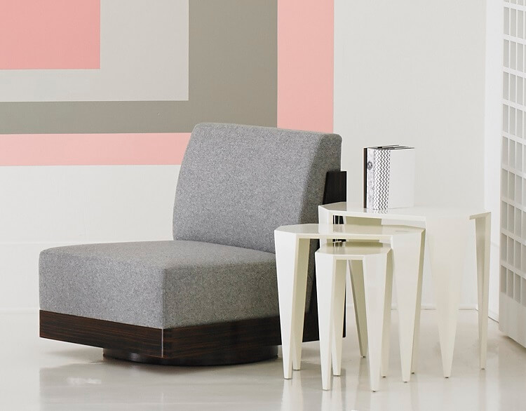 Rottet Home Cubist Swivel Chair