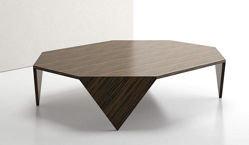 Rottet Home Origami Rectangular Coffee Table