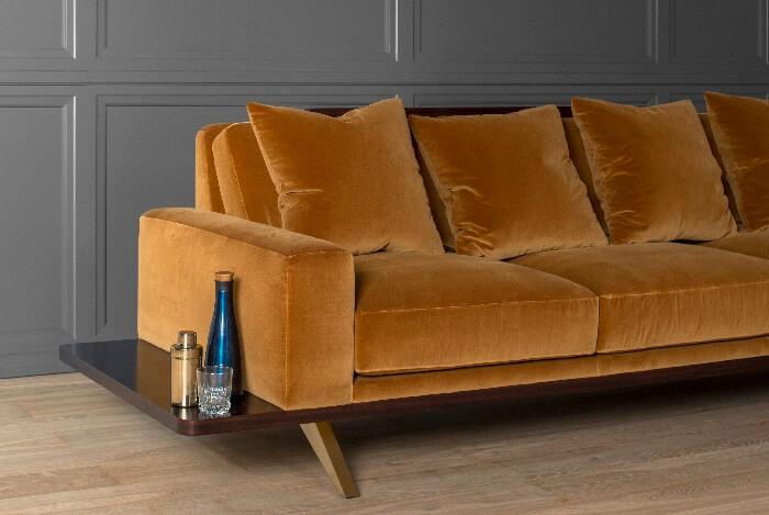 The London Collection Platform Sofa