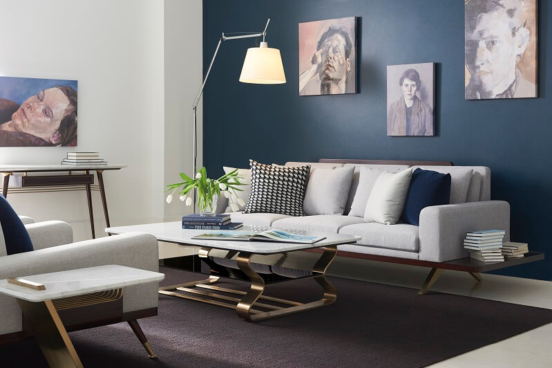 The London Collection Berkley Coffee Table