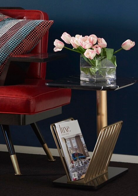 The London Collection Dalston Side Table