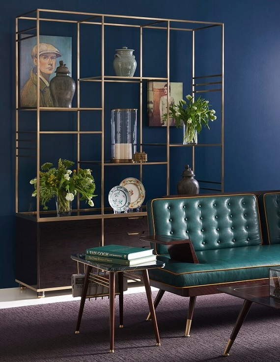 The London Collection Lotts Display Cabinet